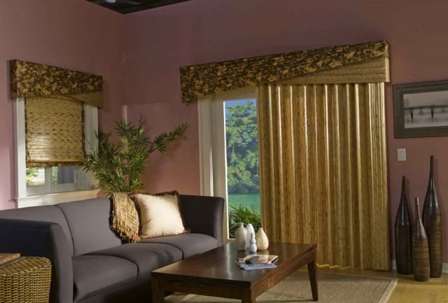 Primitive Curtains For Sliding Glass Doors