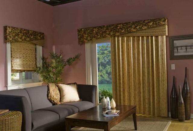 Primitive Curtains For Sliding Glass Doors