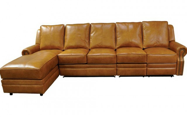 Recliner Sectional Leather Sofas