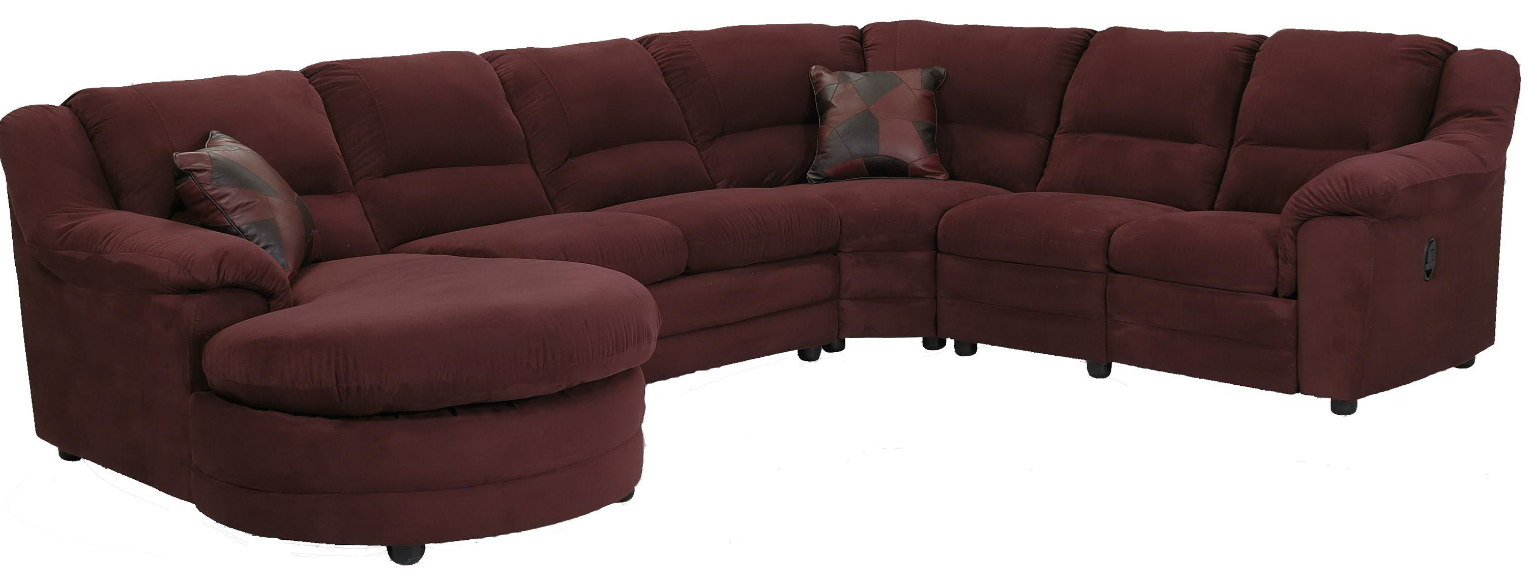 Reclining Sectional Sofas With Chaise