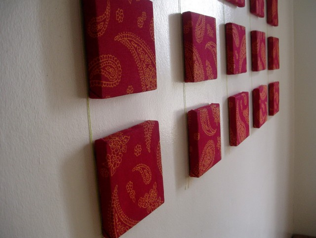 Red Wall Art Decor