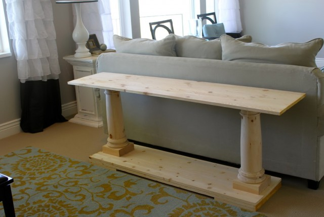 Restoration Hardware Sofa Table