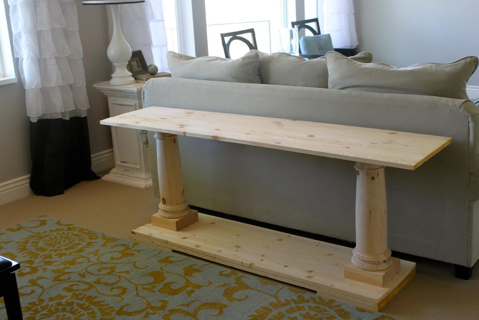 Restoration Hardware Sofa Table