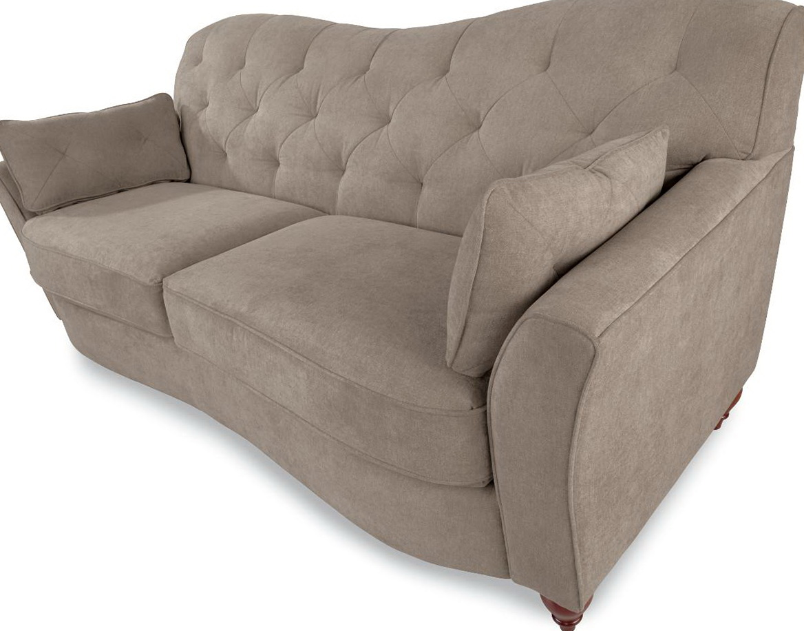 Reverse Camel Back Sofa