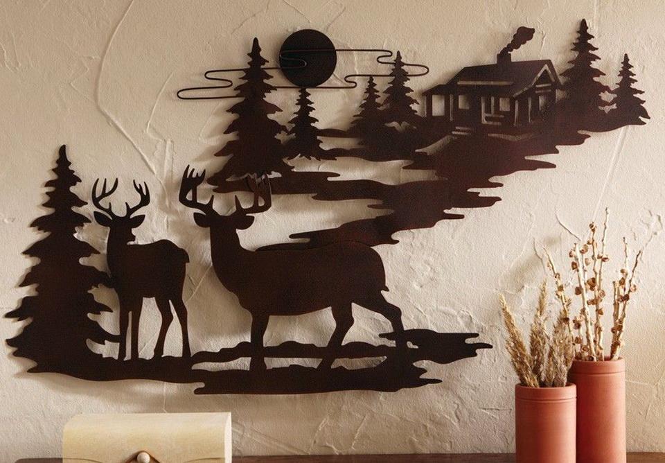 Rustic Wall Art Metal