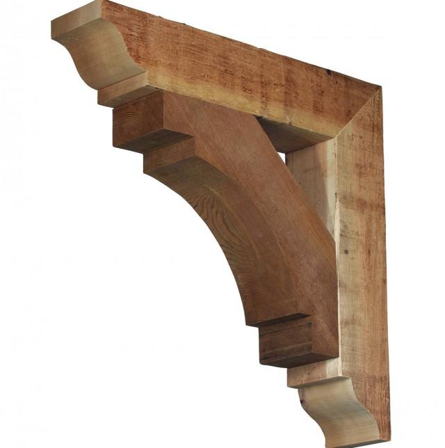 Rustic Wall Shelf Brackets