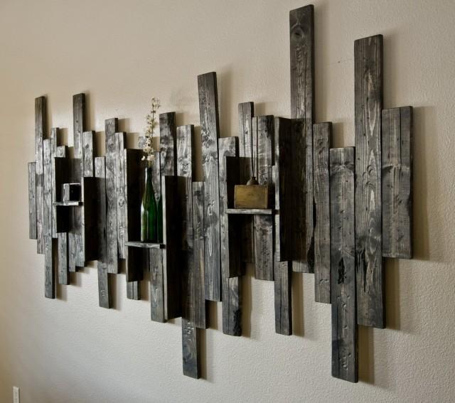 Rustic Wall Shelf Ideas