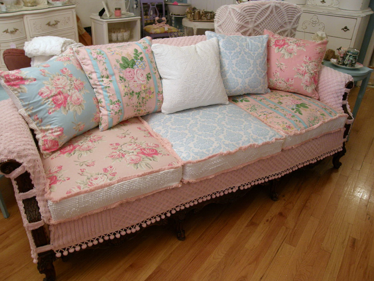 Shabby Chic Sofa Bed