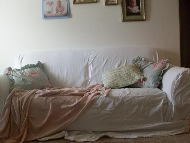Shabby Chic Sofa Slipcover