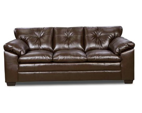Simmons Bonded Leather Sofa