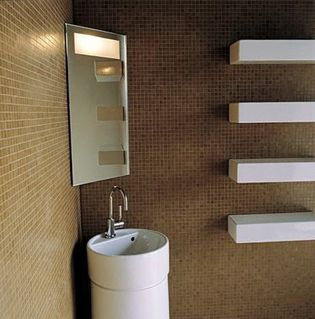 Small Wall Shelf Bathroom