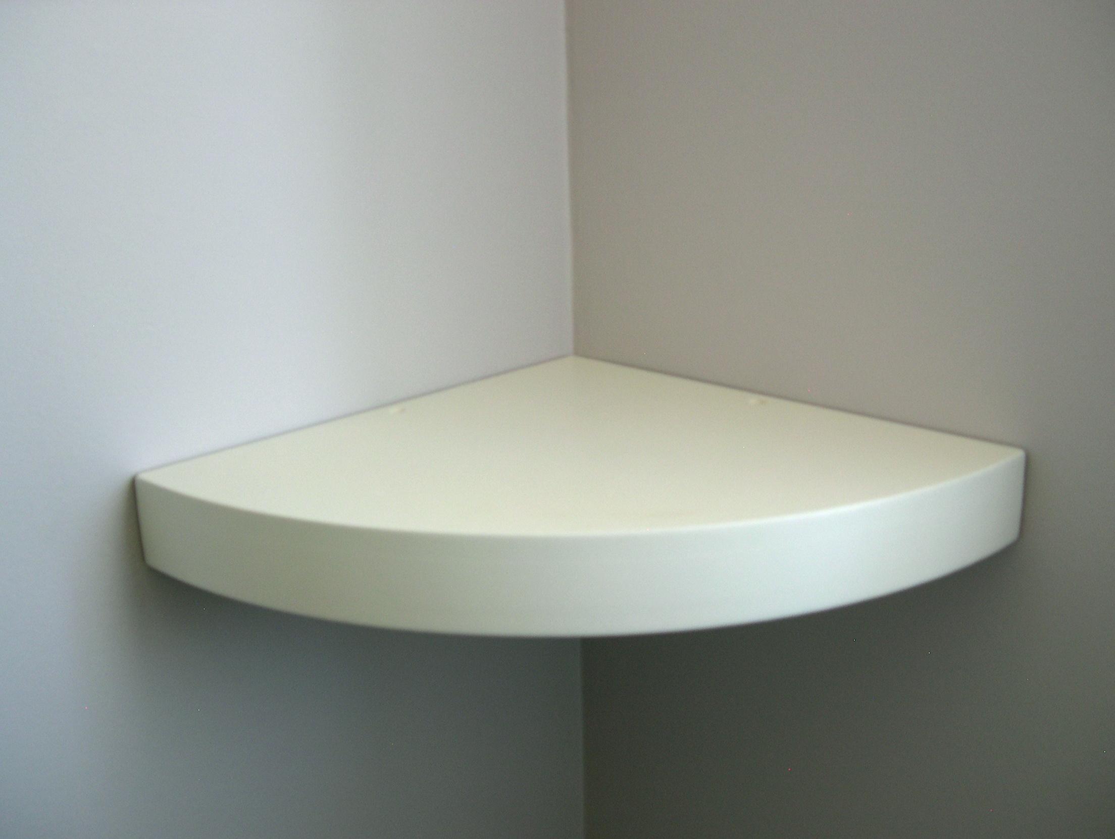 Small White Wall Shelf