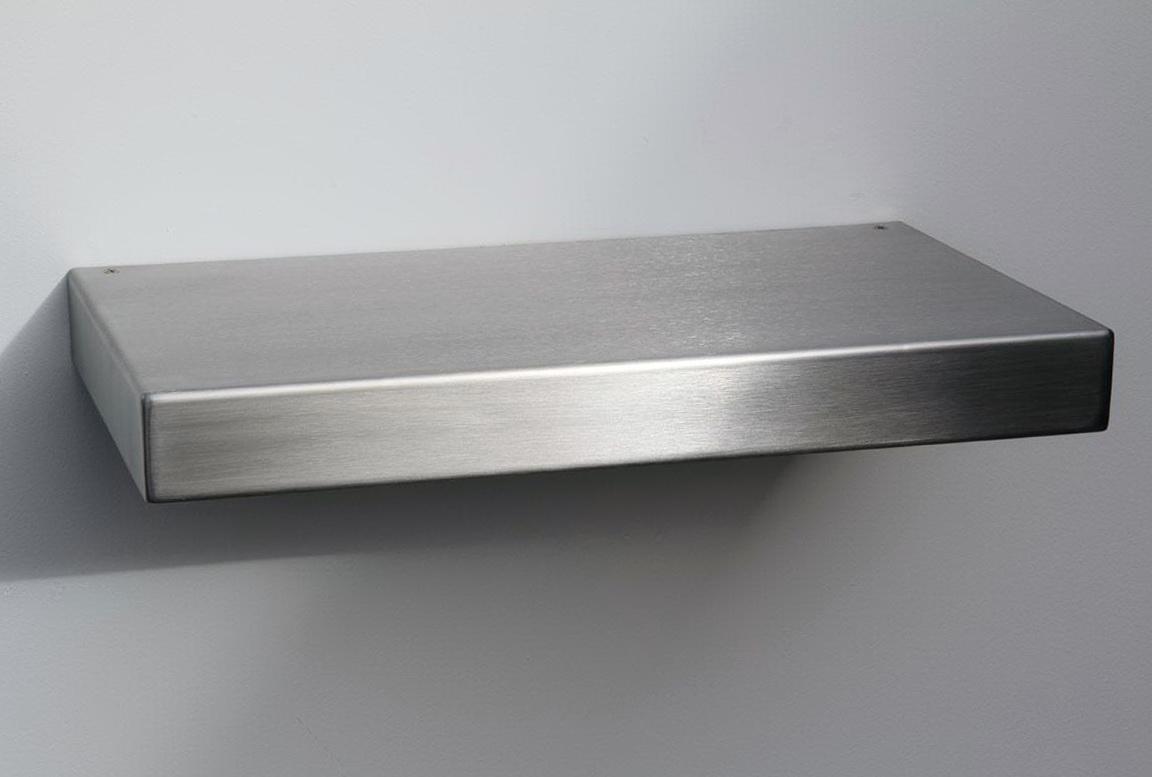 Stainless Steel Wall Shelf 12 Deep
