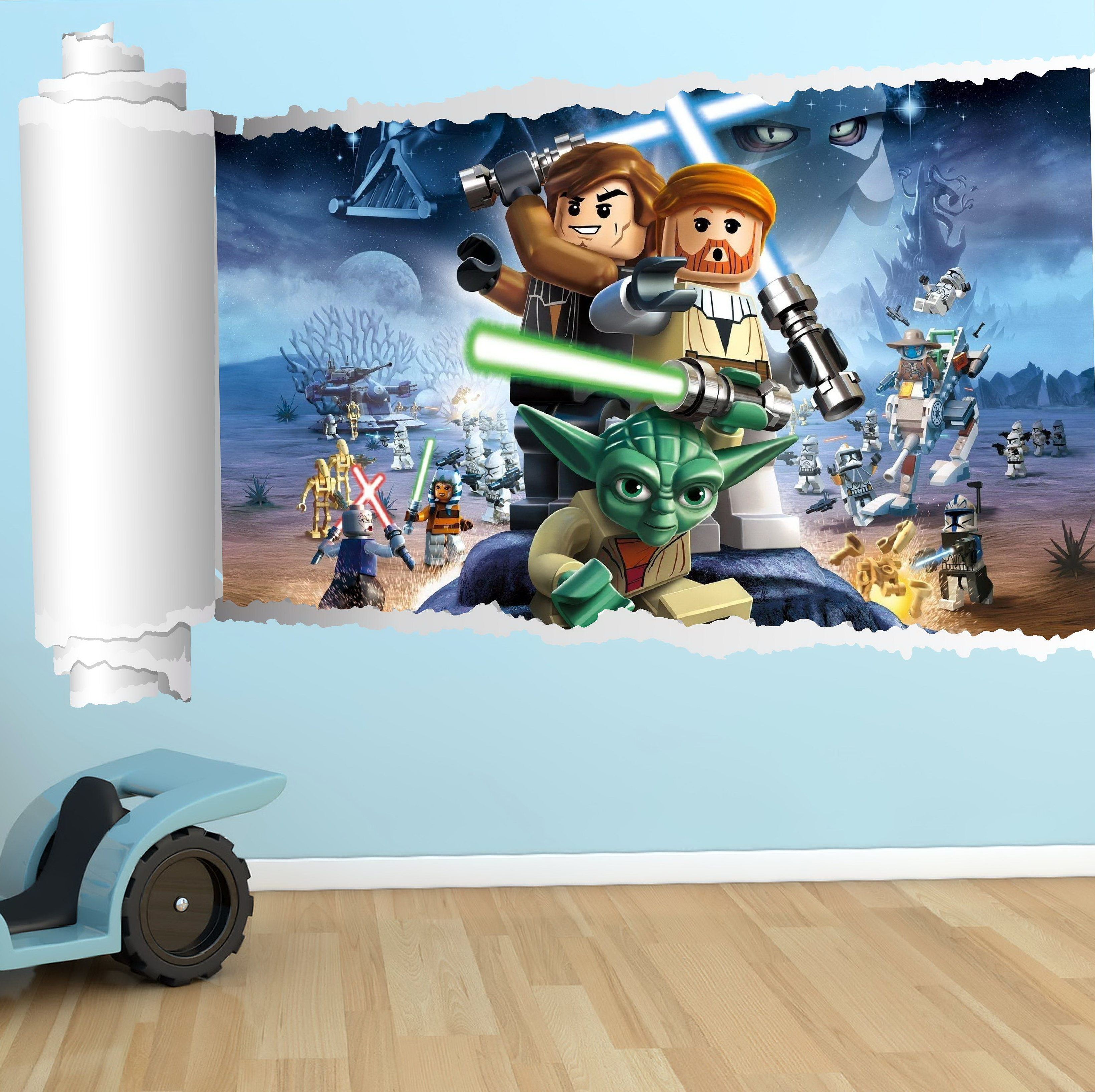 Star Wars Wall Art For Kids