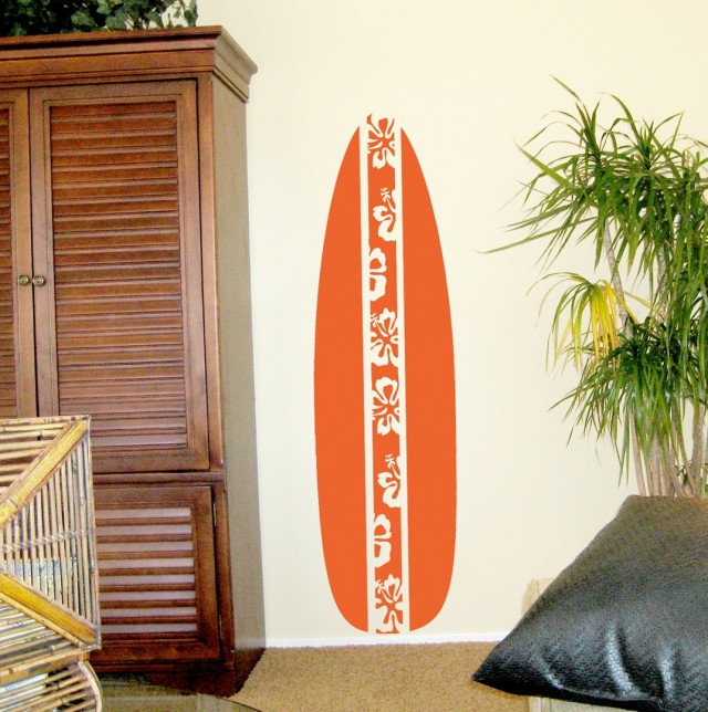 Surfboard Wall Art Home Decorations