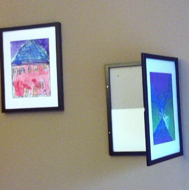 Target Wall Art Display