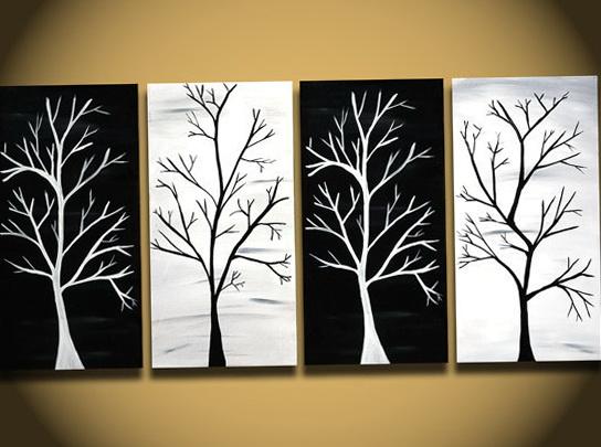 Tree Wall Art Canvas