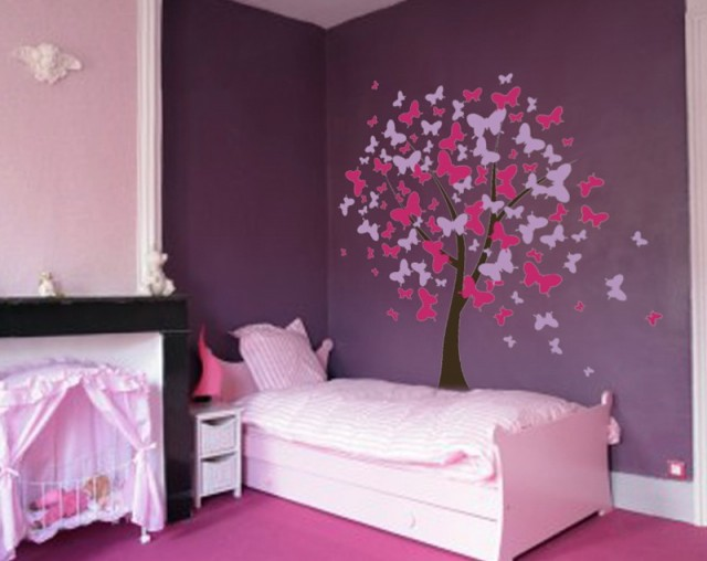Tree Wall Art For Girls Room