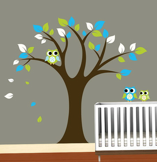 Tree Wall Art Nursery