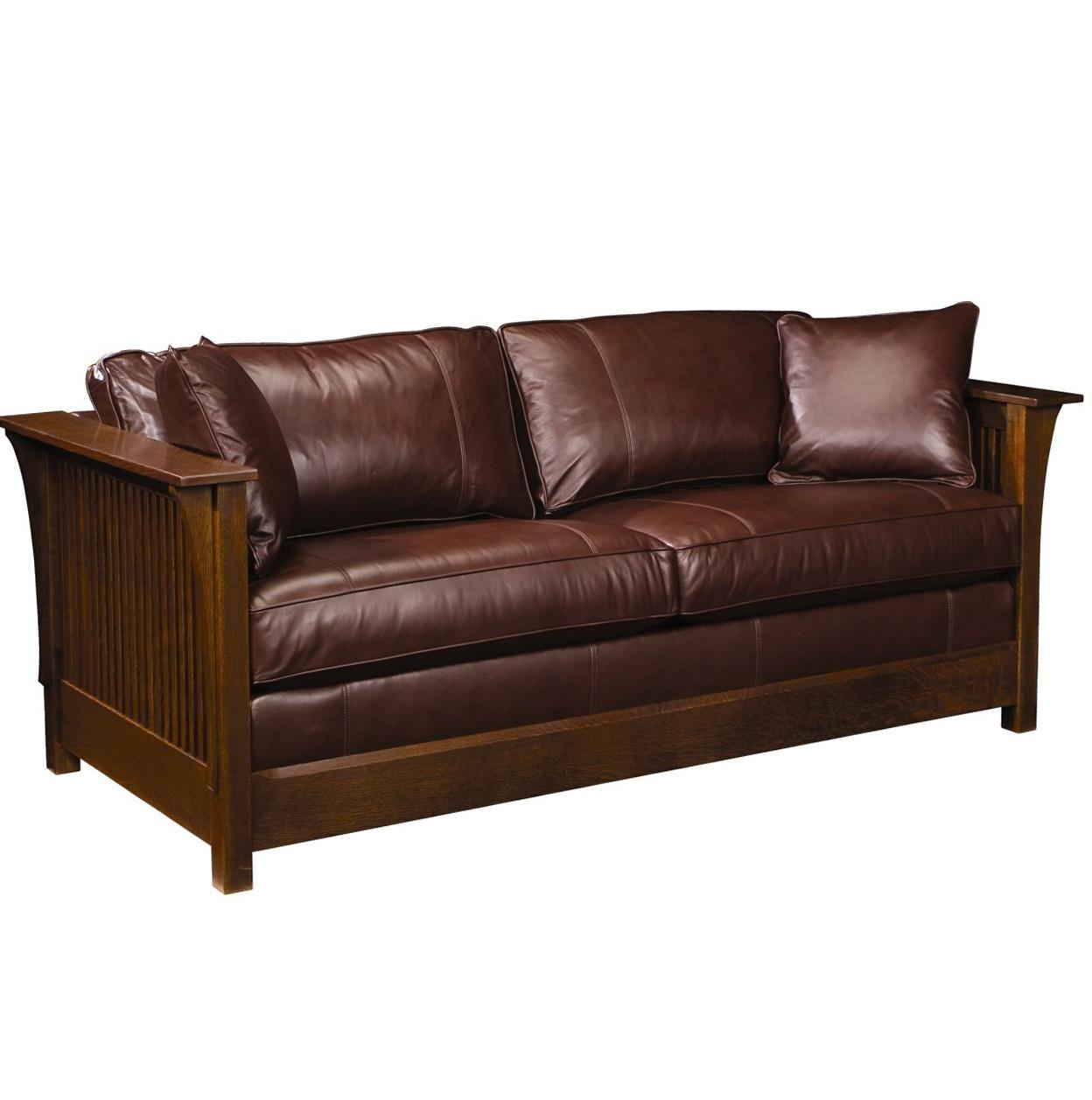 Twin Sofa Sleeper Leather