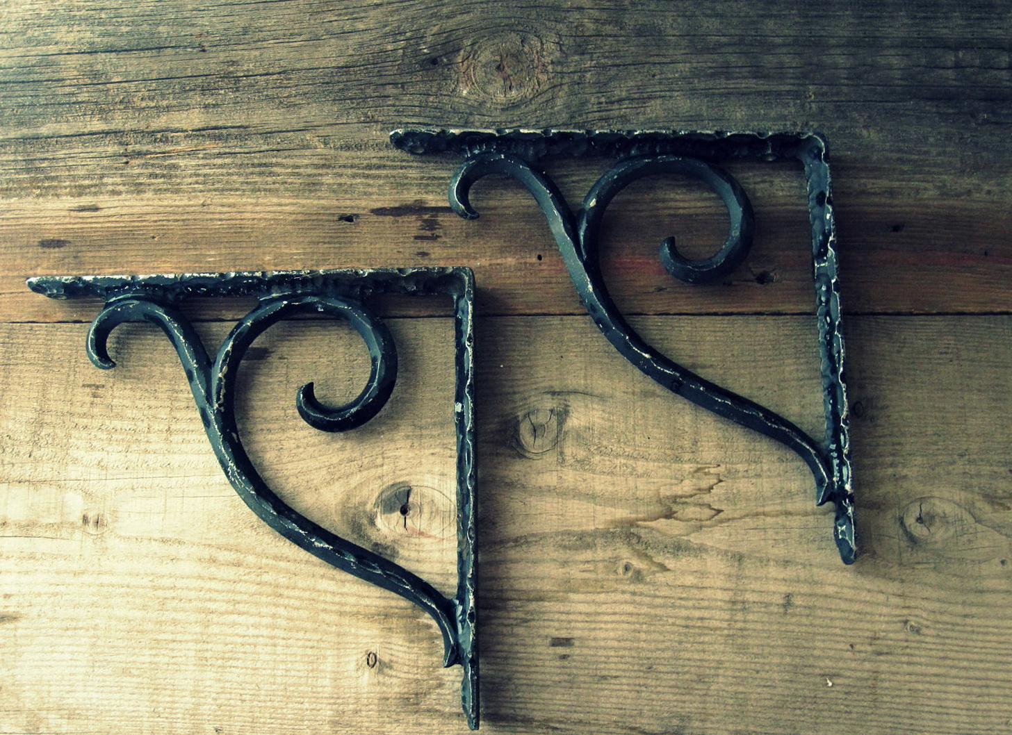 Vintage Wall Shelf Brackets