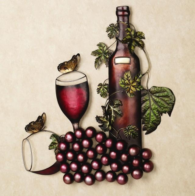 Vintage Wine Wall Art