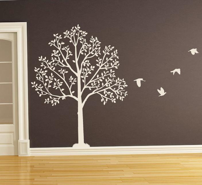 Vinyl Wall Art Tree