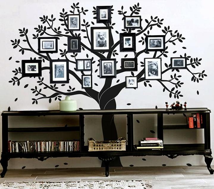 Wall Art Decals Family Tree