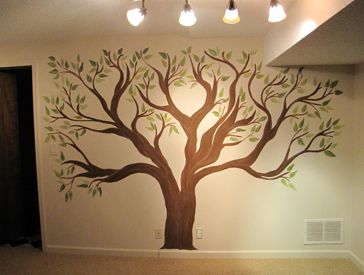 Wall Art Ideas Tree