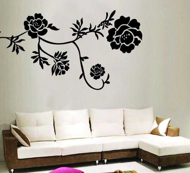 Wall Art Stickers Black