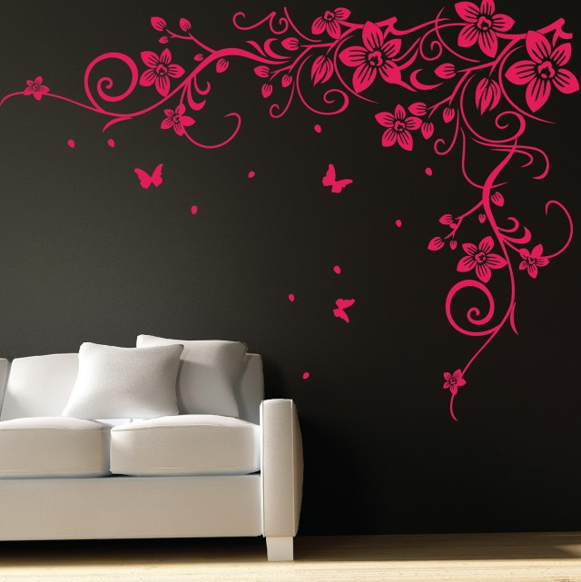 Wall Art Stickers Flowers