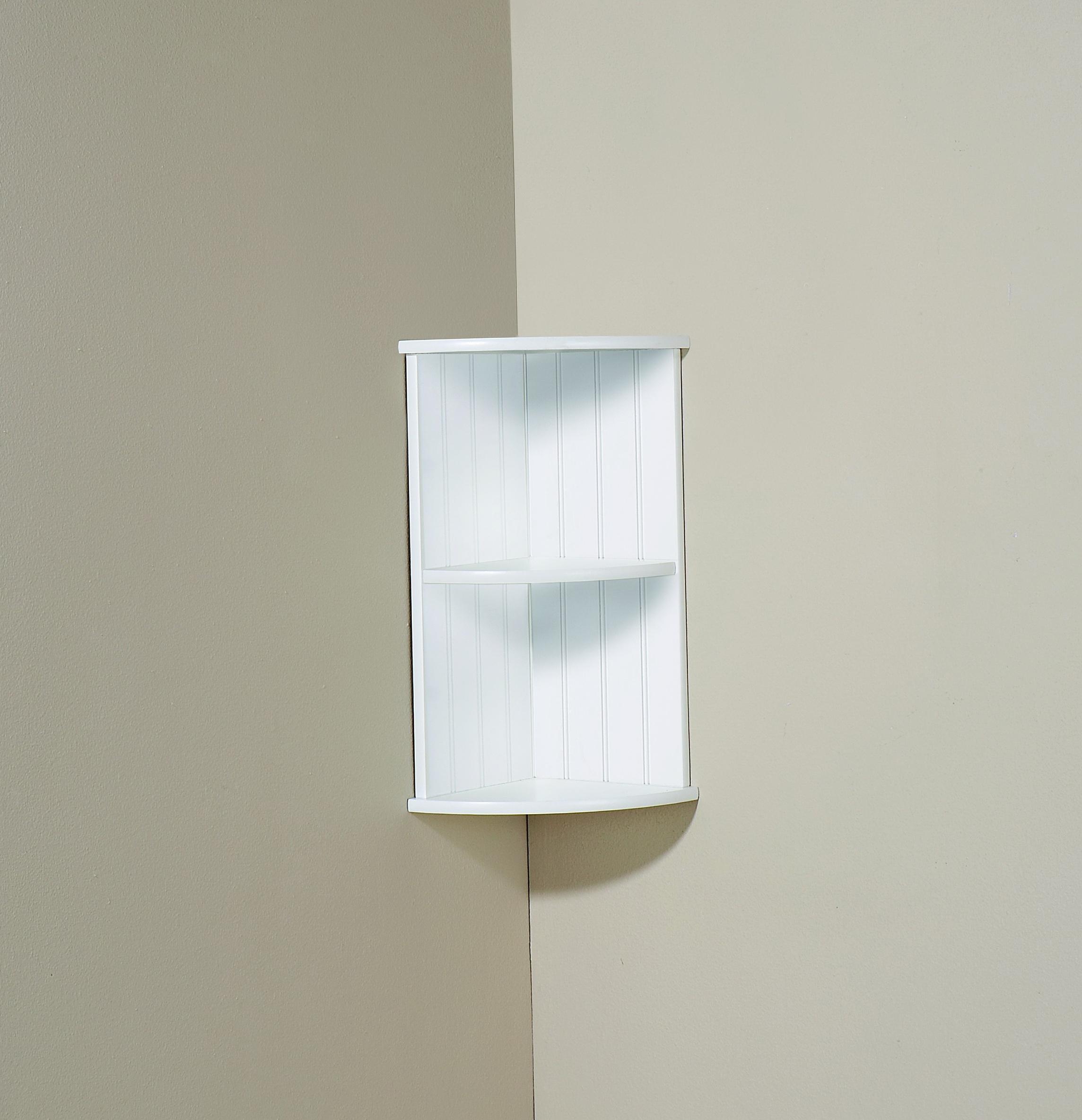 Wall Corner Shelf Unit