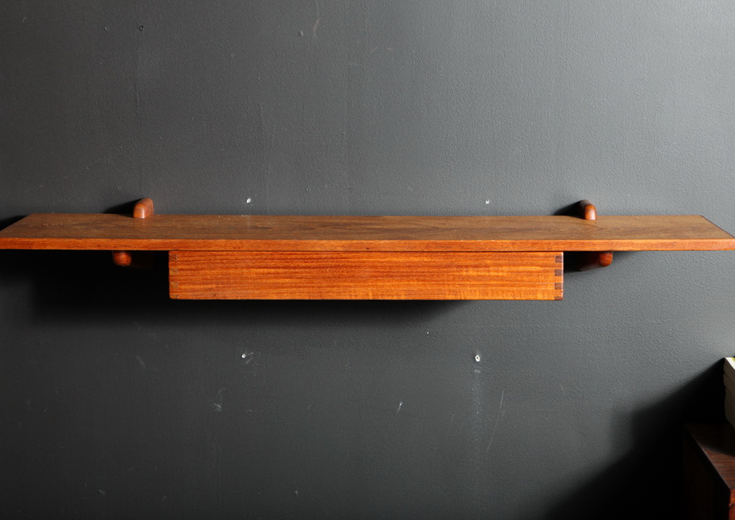 Wall Mount Shelf With Drawer