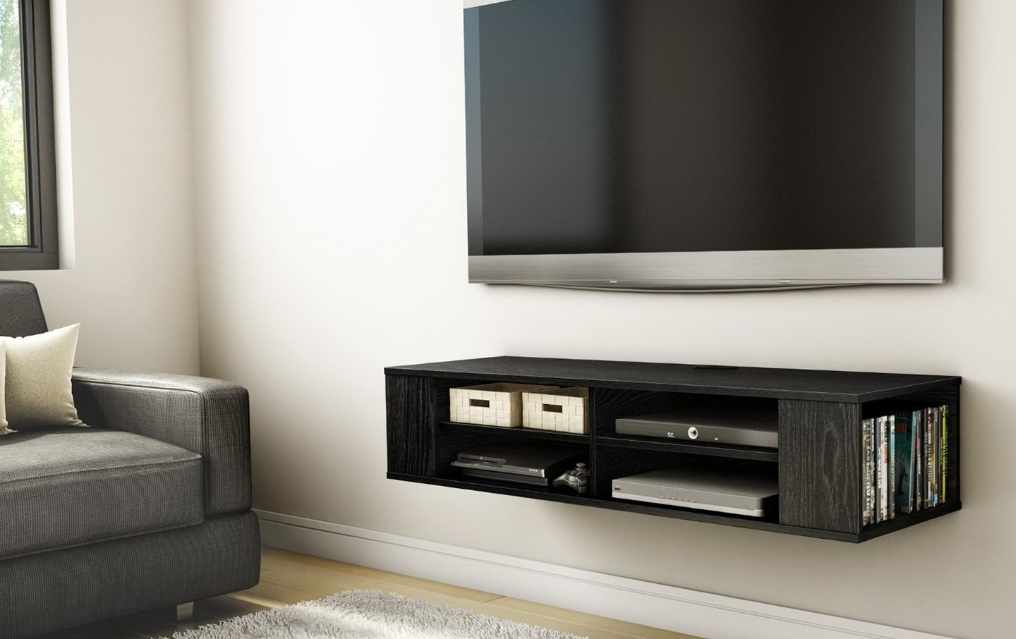 Wall Mount Tv Shelf India