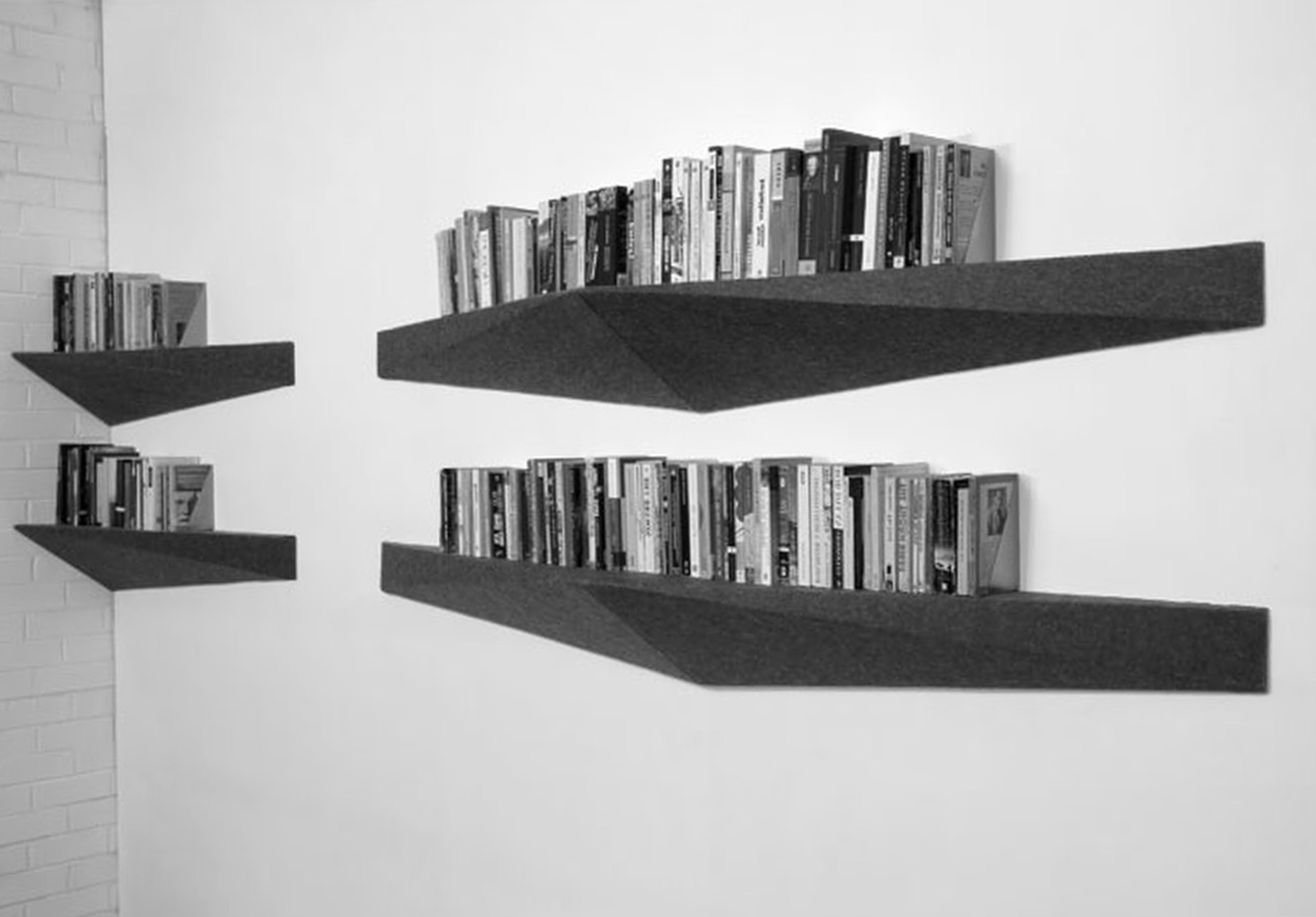Wall Mounted Book Shelf Units