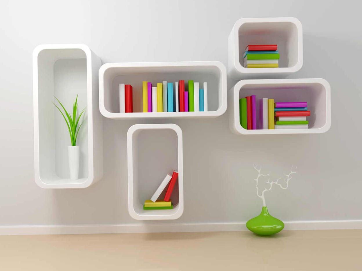 Wall Mounted Bookshelf India