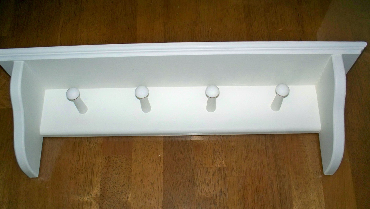 Wall Mounted Coat Rack With Shelf Walmart