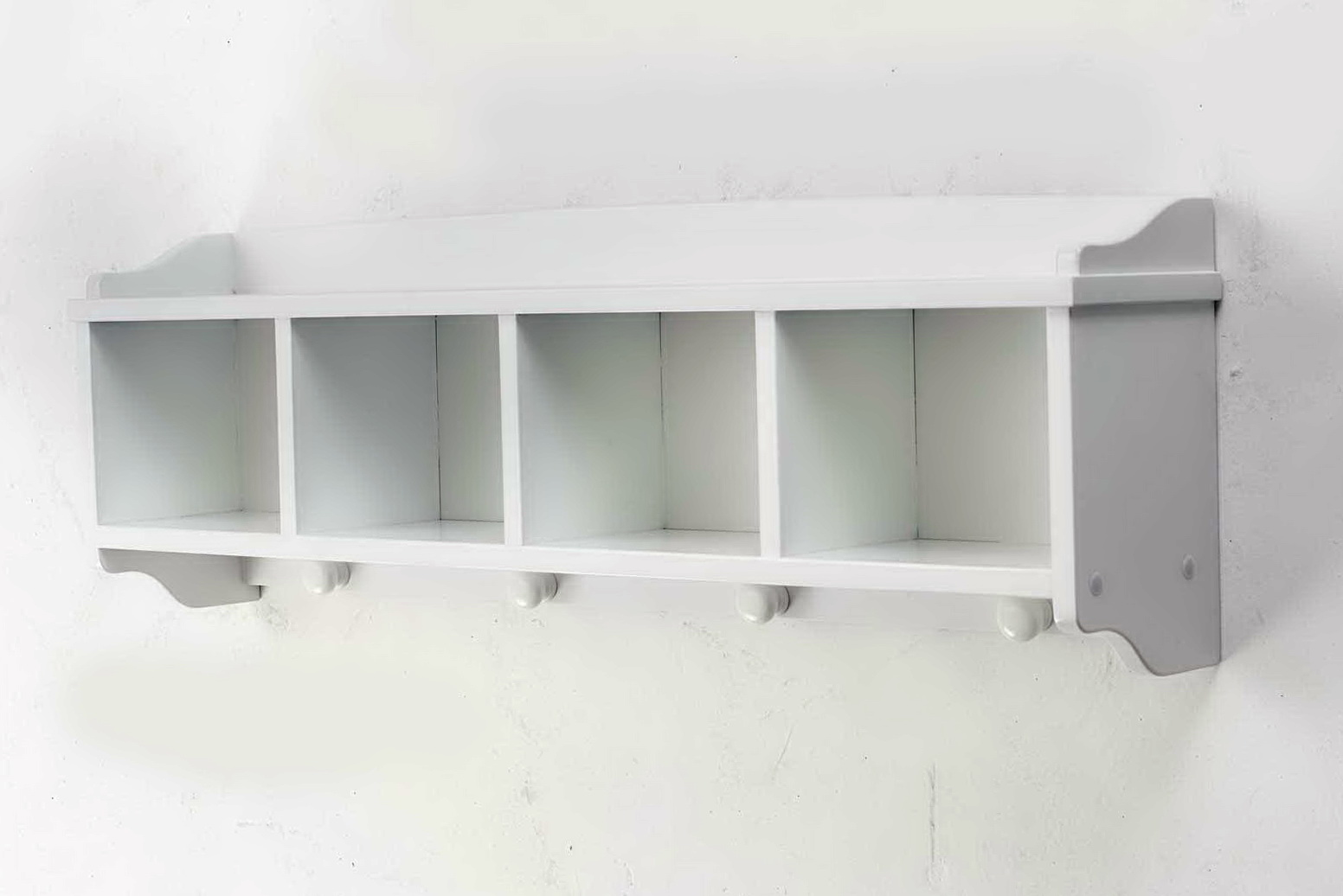 Wall Shelf Unit White