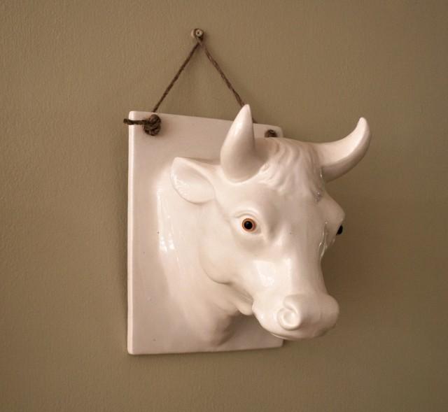 White Ceramic Wall Art