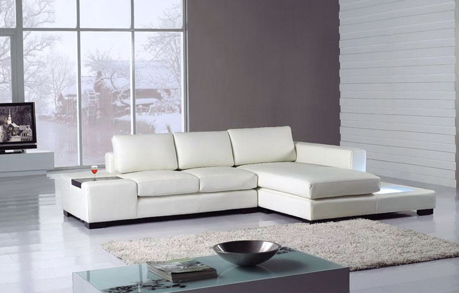 White Sectional Sofa Bed