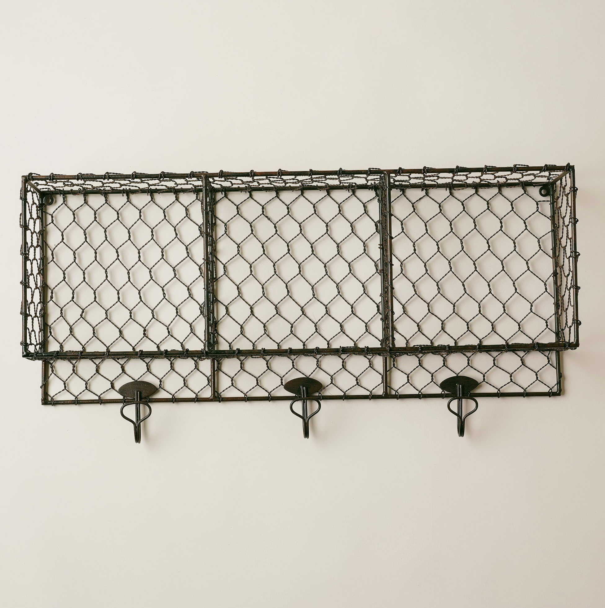 Wire Wall Shelf Unit