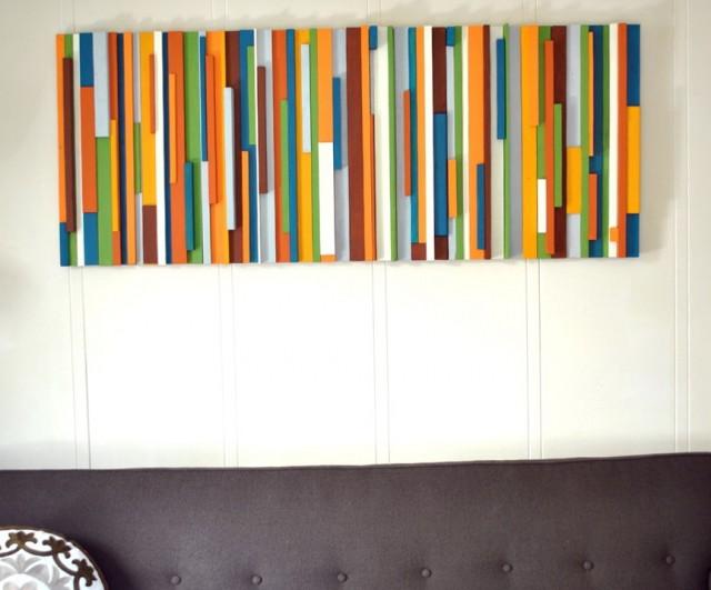 Wooden Wall Art Diy