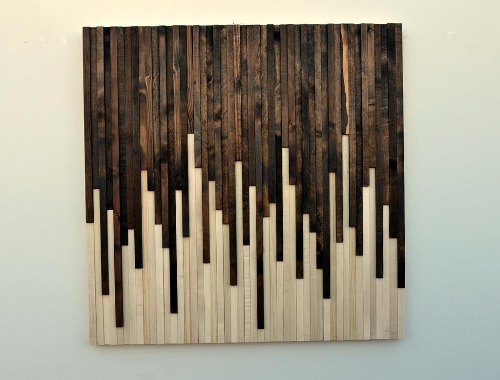 Wooden Wall Art Sculptures
