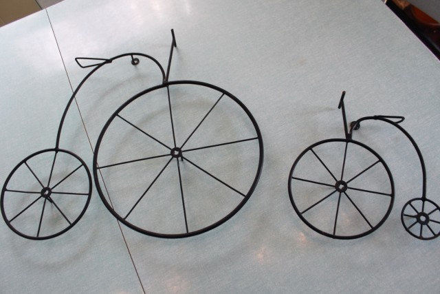 Wrought Iron Bicycle Wall Art