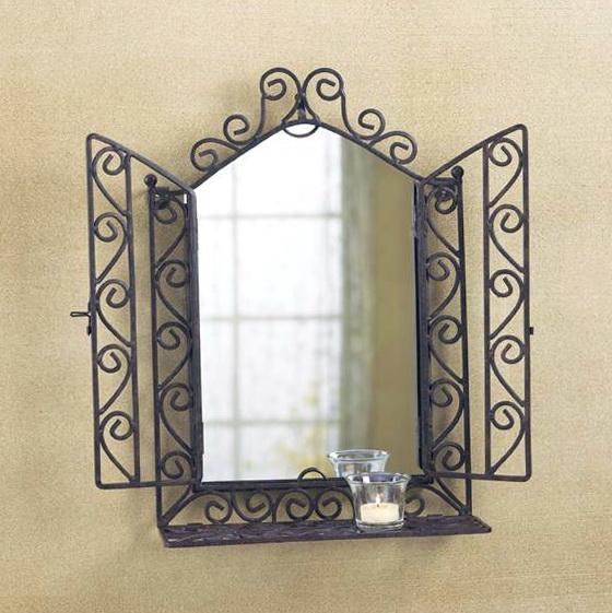Wrought Iron Wall Art Decor