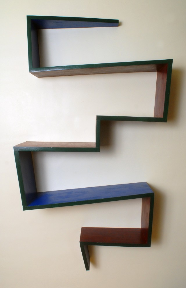 Zig Zag Wall Shelf Uk