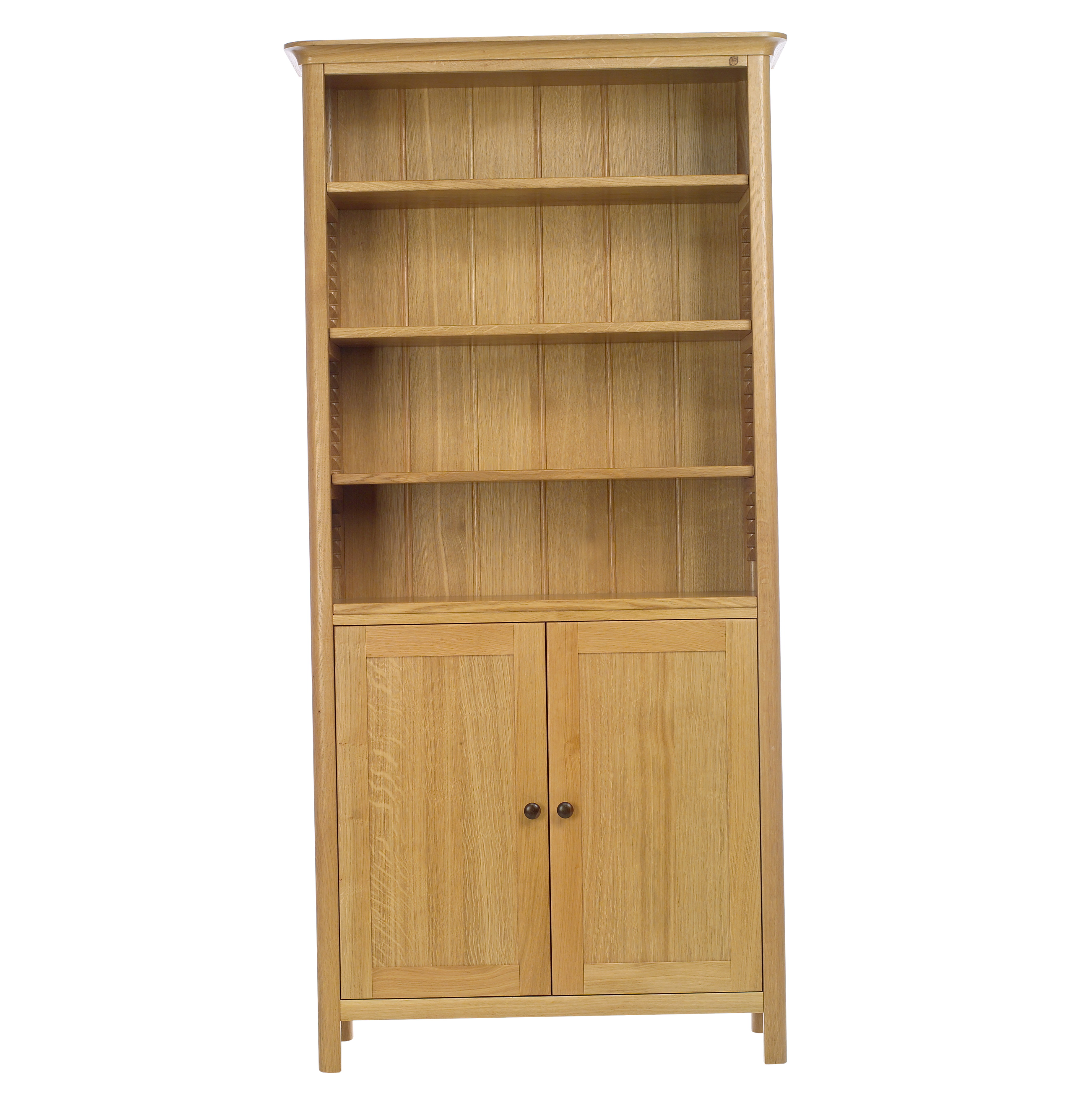4 Shelf Bookcase With Doors