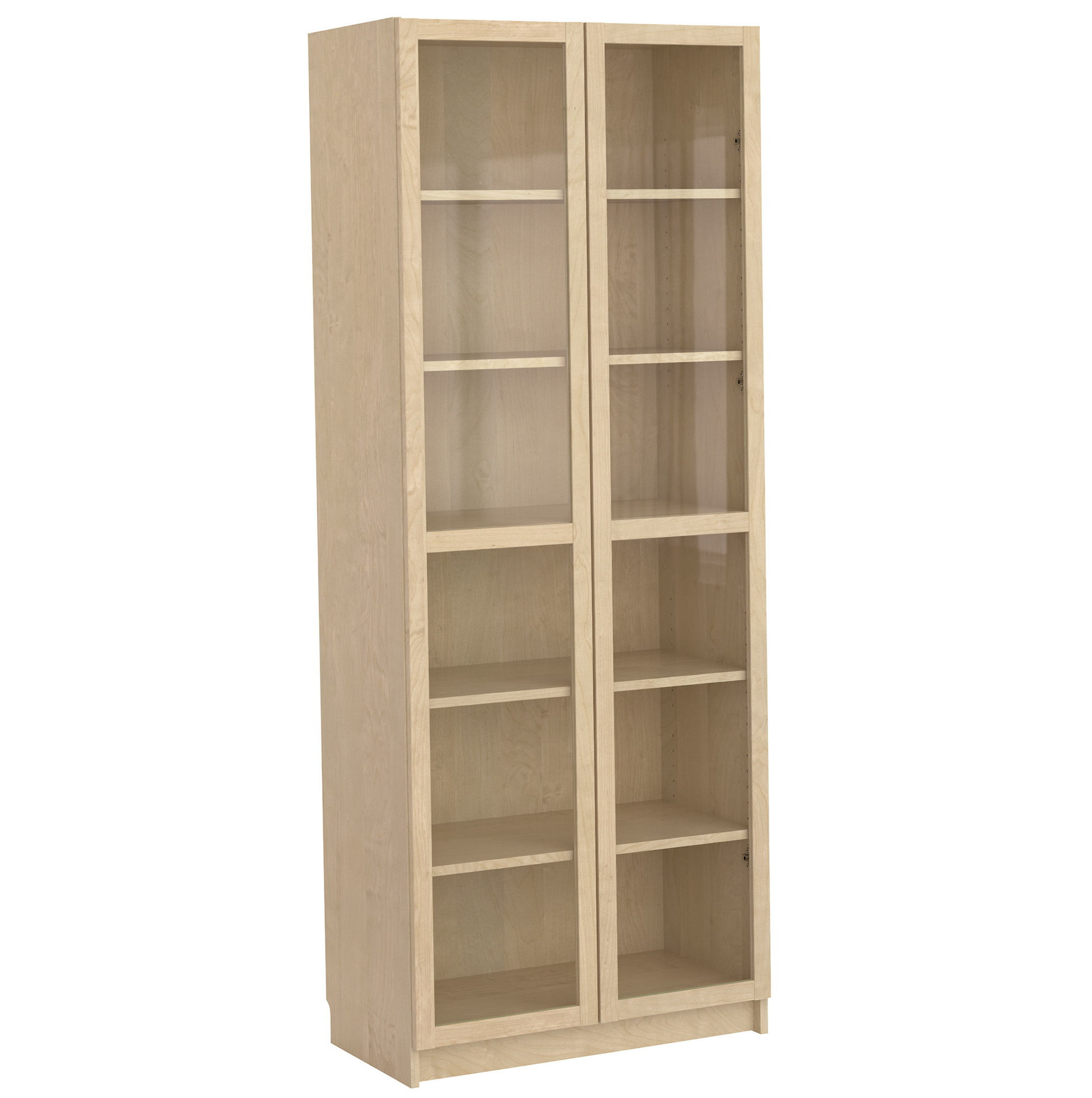 6 Shelf Bookcase With Doors