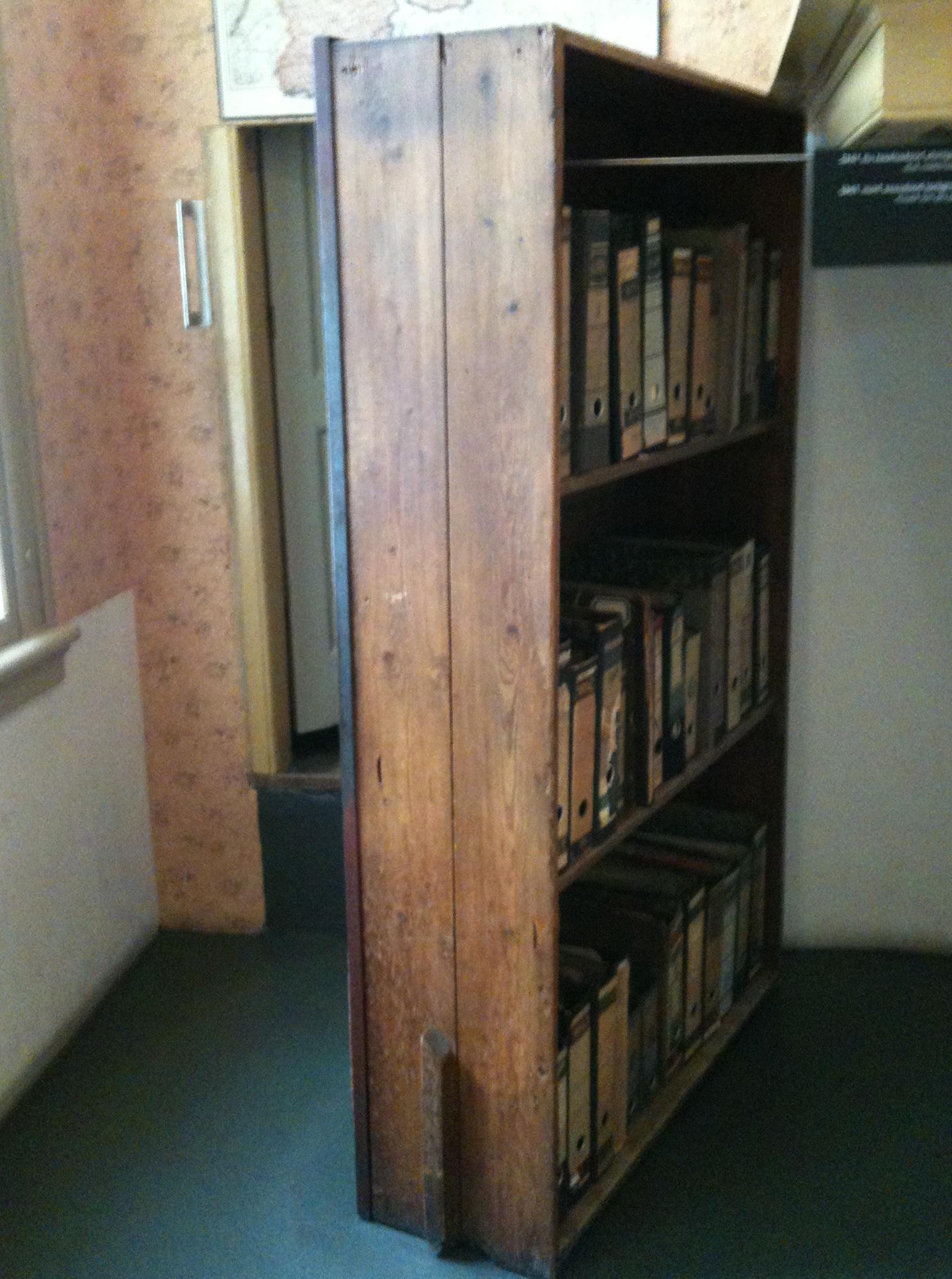 Anne Frank Secret Bookcase Door