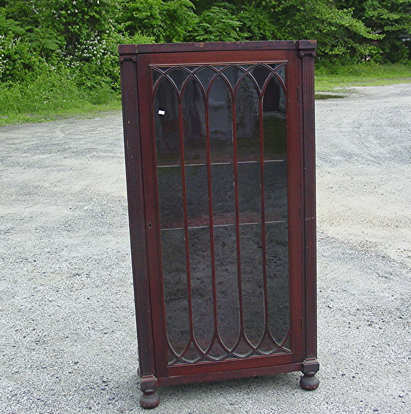 Antique Bookcases With Glass Doors For Sale